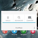 Shutter Cloudmagic Action Launcher