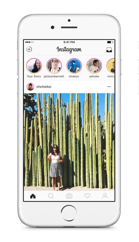 Instagram Stories iOS