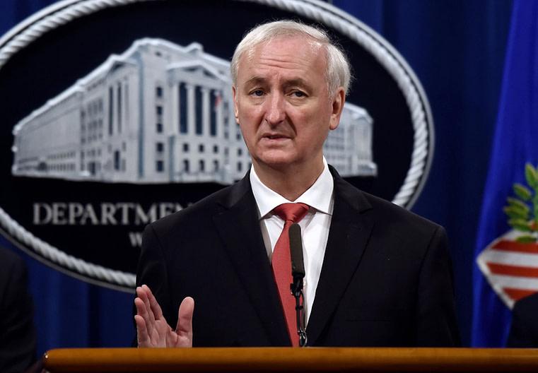 Jeffrey A. Rosen, département de la Justice des États-Unis. Photo: New York Times