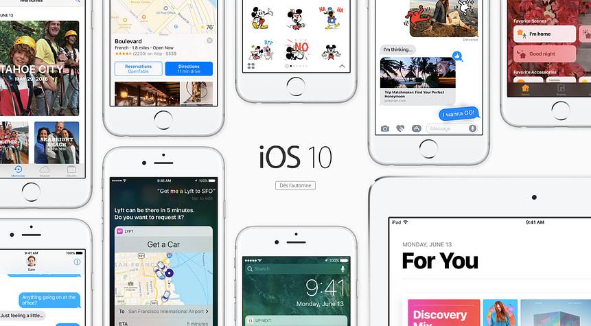 iOS 10 soon