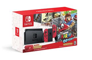 Nintendo Switch Mario Odyssey Guide cadeaux noël 2017
