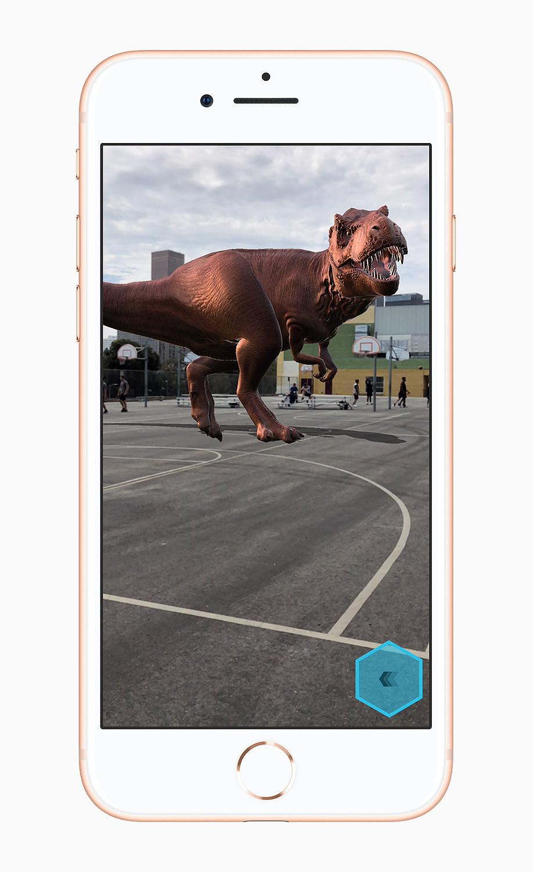 ARKit iPhone 8