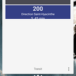 Shutter Transit Action Launcher