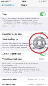 Mode nuit iOS