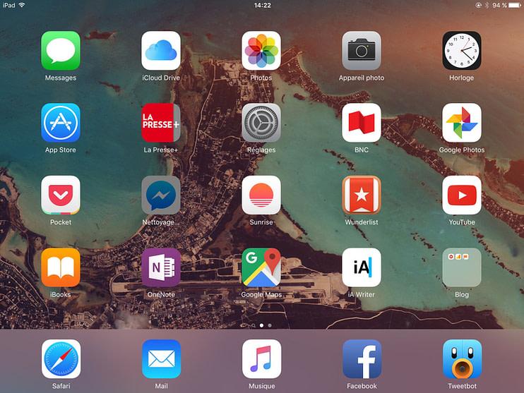 Save storage iPad
