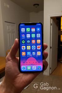 iPhone X par Galaxy Note 9