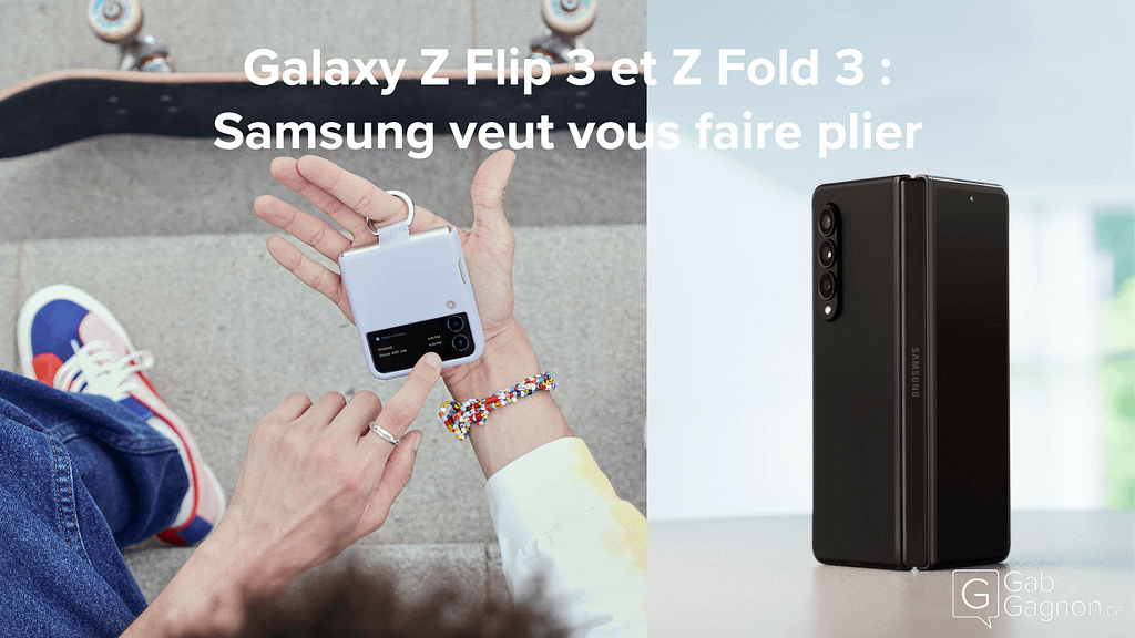 """Featured image for """"Galaxy Z Flip 3 et Z Fold 3 : Samsung veut vous faire plier"""""""