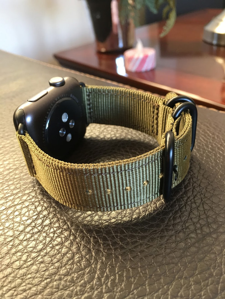 Bracelets Apple Watch : Nylon Monowear