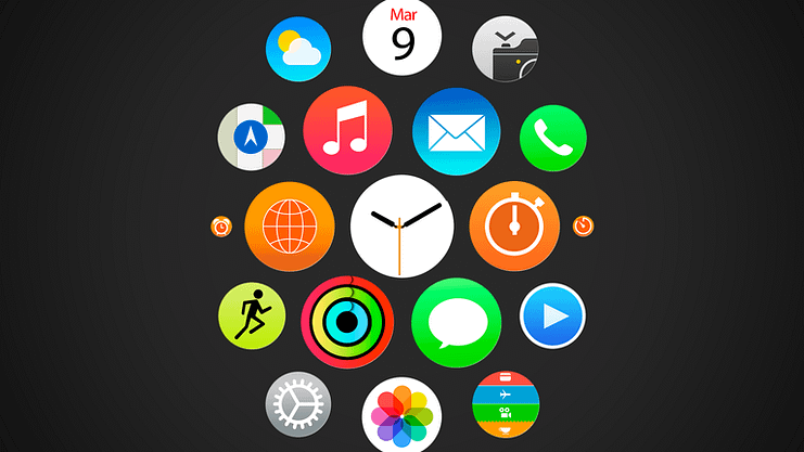 Apple watch apps icons