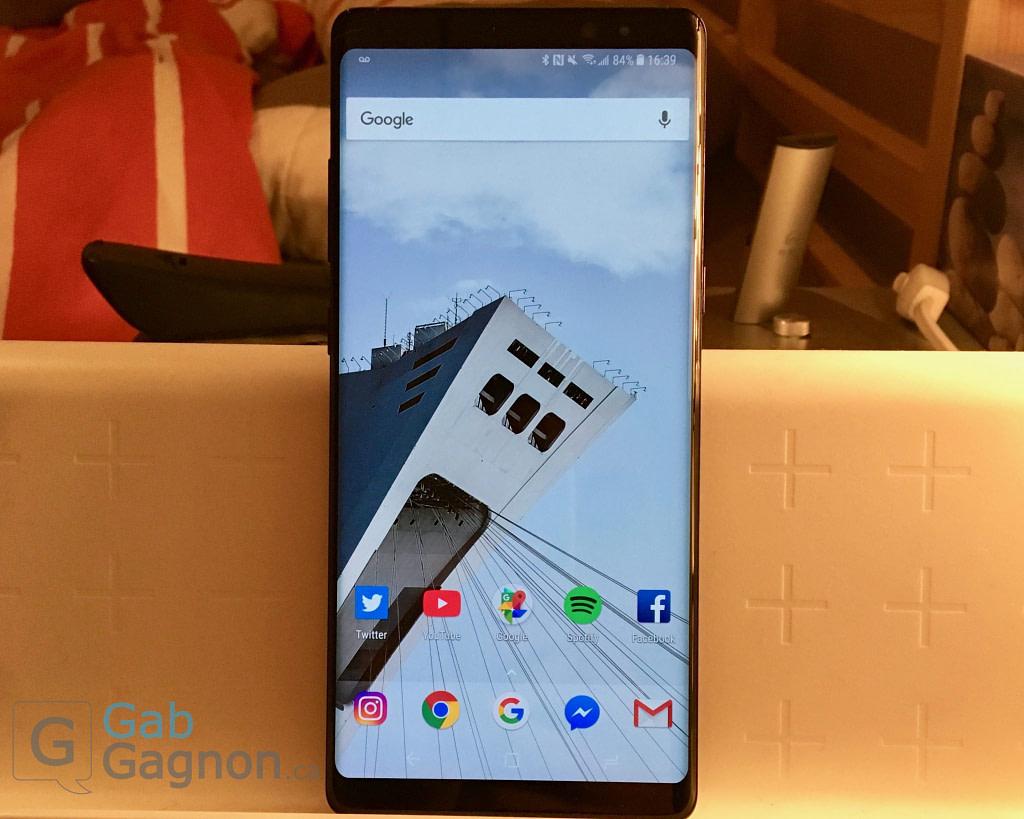 Galaxy Note8 Touchwiz