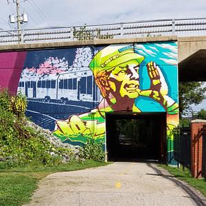 Murale de train – Galaxy S9+